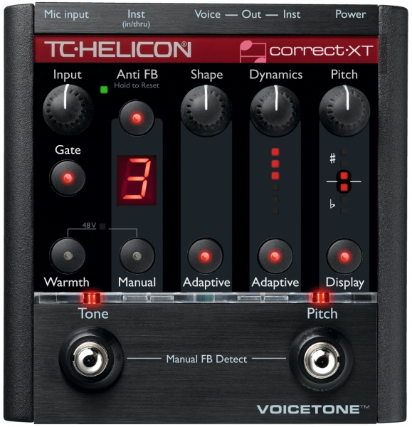 TC Helicon TC Helicon VoiceTone Correct XT