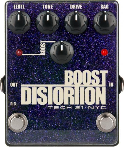 Tech 21 Boost Distortion Metallic
