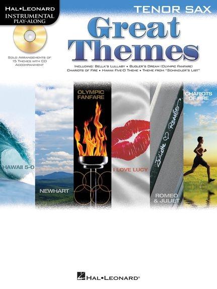 No brand Tenor Saxophone Play-Along: Great Themes