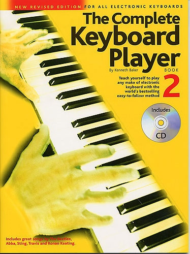 No brand THE COMPLETE KEYBOARD PLAYER BOOK 2 REVISED EDITION KBD BOOK/CD