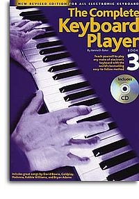 No brand THE COMPLETE KEYBOARD PLAYER BOOK 3 REVISED EDITION KBD BOOK/CD