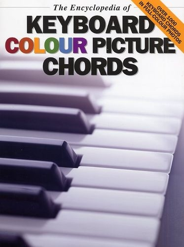 No brand THE ENCYCLOPEDIA OF KEYBOARD COLOUR PICTURE CHORDS KBD BOOK