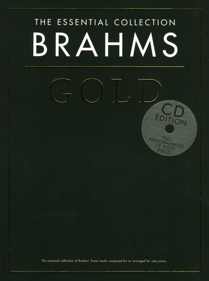 No brand THE ESSENTIAL COLLECTION BRAHMS GOLD PIANO BOOK/2CD