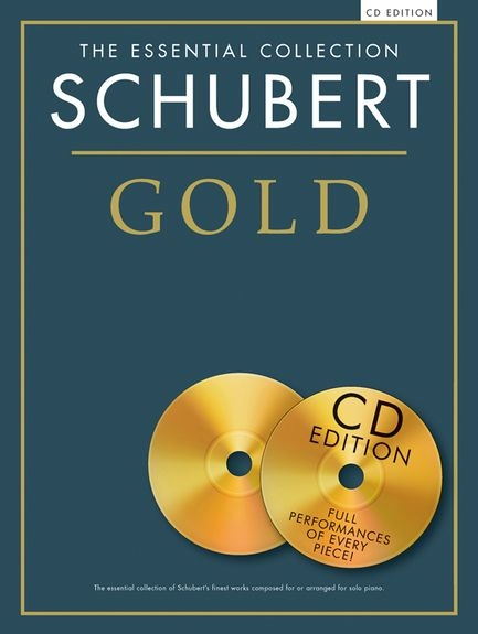 No brand THE ESSENTIAL COLLECTION SCHUBERT GOLD PIANO BOOK/2CD