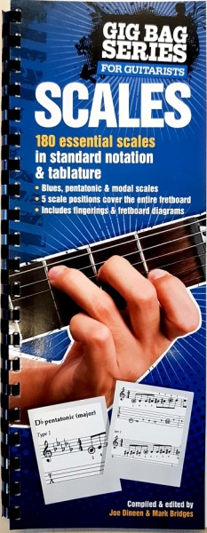 No brand THE GIG BAG BOOK OF SCALES FOR ALL GUITARISTS GUITAR TAB BOOK