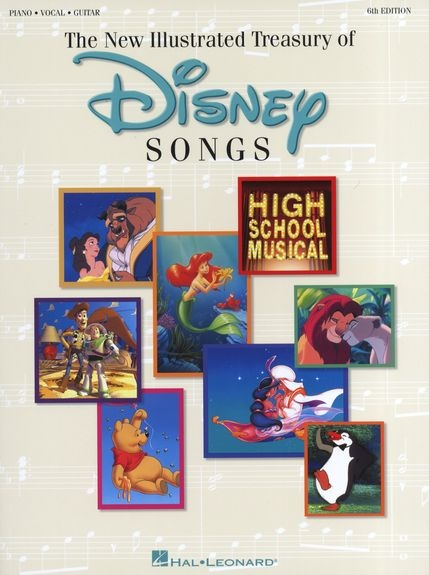 No brand THE ILLUSTRATED TREASURY OF DISNEY SONGS PVG