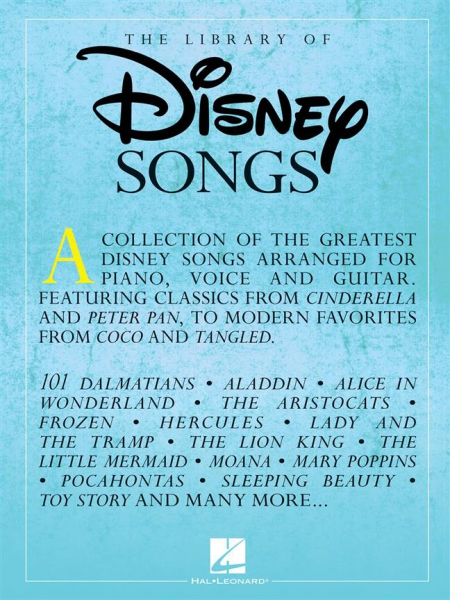 No brand The Library of Disney Songs