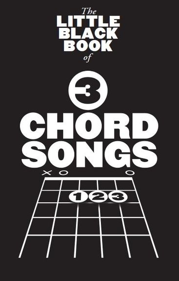 No brand The Little Black Book Of 3 Chord Songs