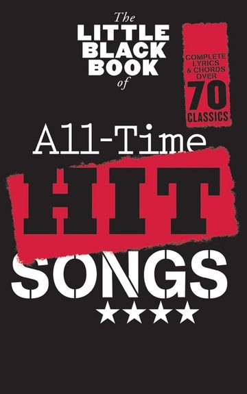 No brand THE LITTLE BLACK BOOK OF ALL-TIME HIT SONGS LYRICS & CHORDS BOOK