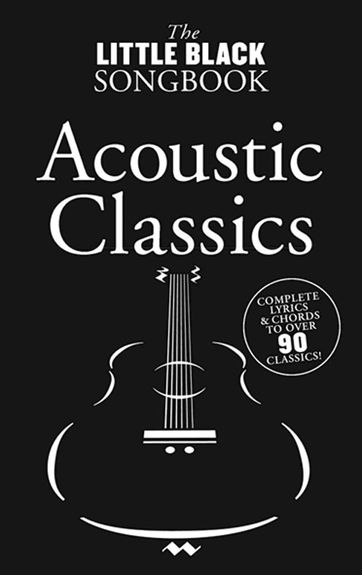 No brand The Little Black Songbook: Acoustic Classics