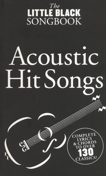 No brand The Little Black Songbook: Acoustic Hits