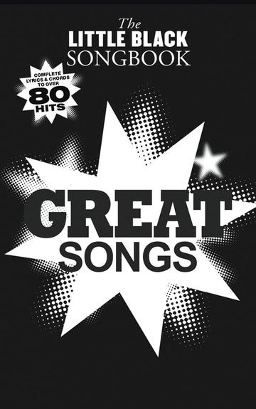 No brand The Little Black Songbook: Great Songs