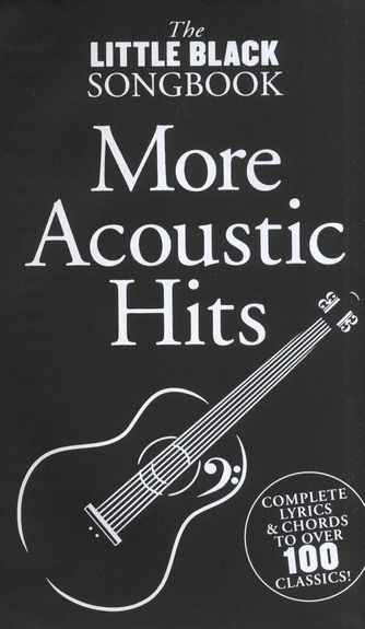 No brand The Little Black Songbook: More Acoustic Hits