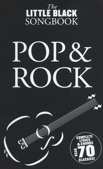 No brand The Little Black Songbook: Pop And Rock