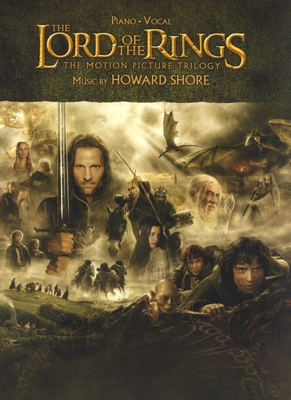 No brand The Lord of the Rings Trilogy Solo Piano