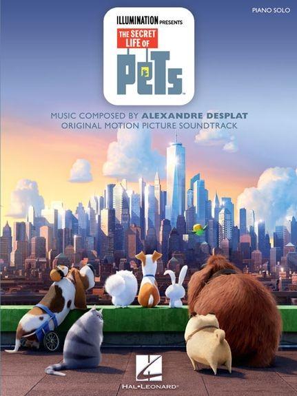 Colectie de partituri de pian The Secret Life Of Pets (Piano Solo)