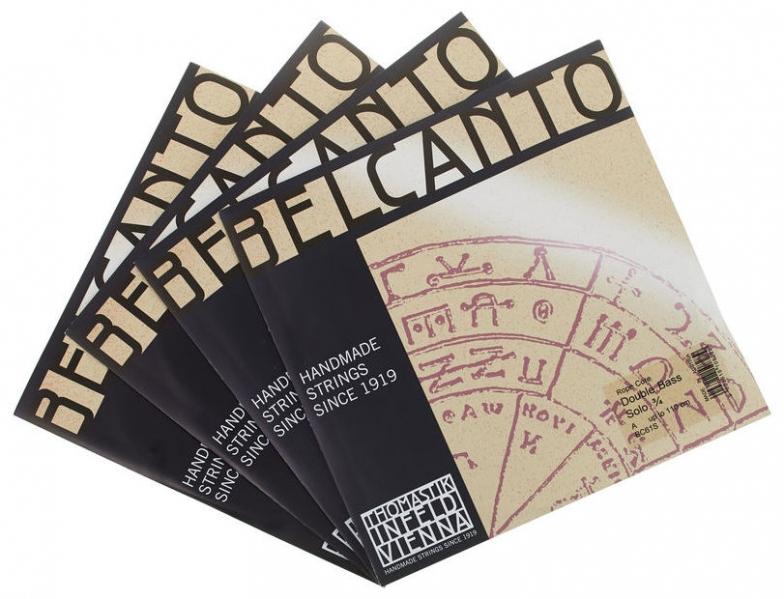 Set de corzi pentru contrabas Thomastik Belcanto C-Bas Set Solo 3/4