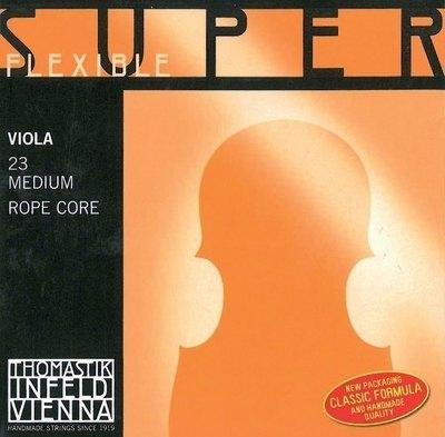 Set de corzi pentru Viola Thomastik Superflexible Viola Set Medium