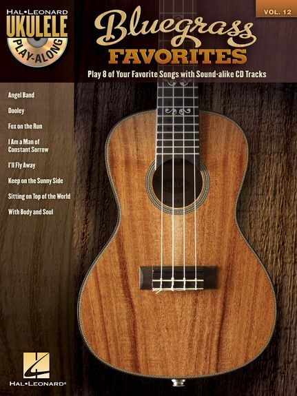 No brand Ukulele Play-Along Volume 12: Bluegrass Favorites