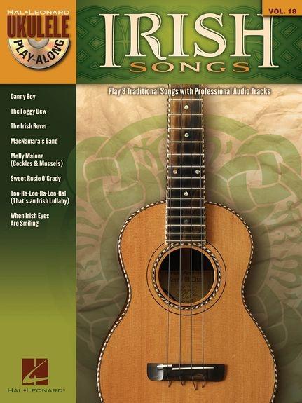 No brand UKULELE PLAY ALONG VOLUME 18 IRISH SONGS