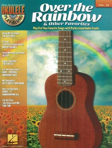 No brand Ukulele Play-Along Volume 29: Over The Rainbow & Other Favorites