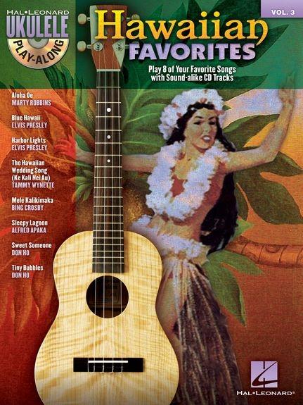No brand Ukulele Play-Along Volume 3: Hawaiian Favorites