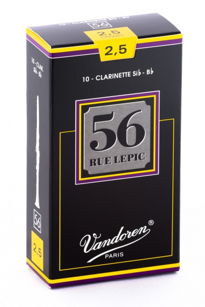Vandoren 56 Rue Lepic Clarinet Bb 2.5