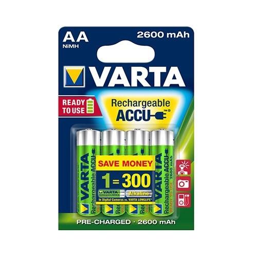 Varta 5716 Accu AA 2600 mAh - Set 4