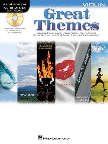 No brand Violin Play-Along: Great Themes