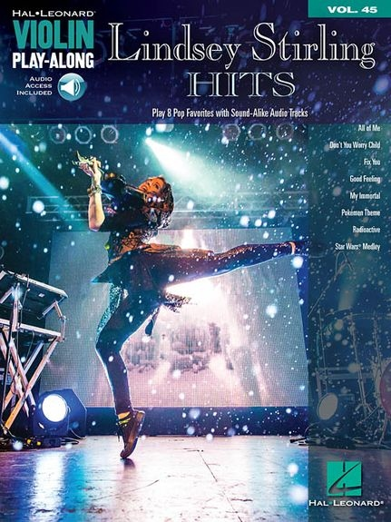 No brand Violin Play-Along Volume 45: Lindsey Stirling Hits (Book/Online Audio)