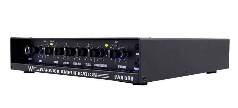 Head de bass Warwick LWA-500 Black