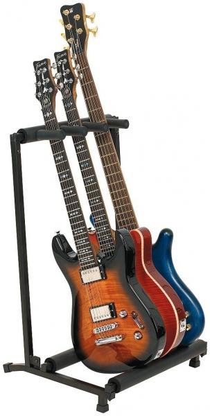 Stativ pentru 3 chitari / bass electrice Warwick Rockstand RS20880