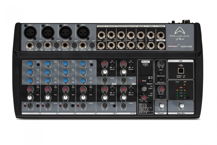 Wharfedale Pro Connect 1202FX USB