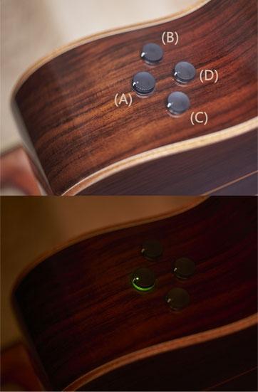 Chitara electro-acustica Yamaha A3M ARE TBS