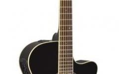 Chitara electro-acustica cu cutaway Yamaha APX 600 Black