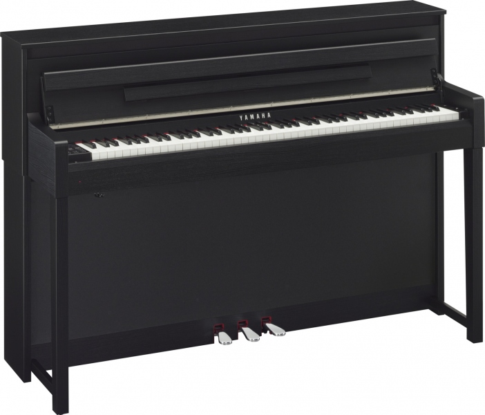 yamaha clavinova clp 585 black pian digital soundcreation. Black Bedroom Furniture Sets. Home Design Ideas