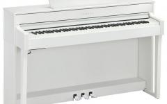 Pian digital cu 88 de clape Yamaha CLP-645 WH