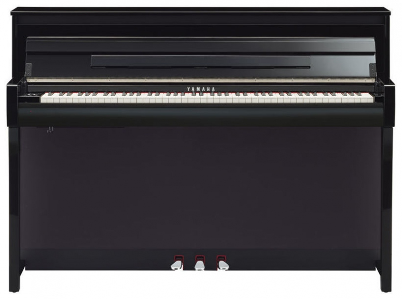 yamaha clavinova clp 685 pe pian digital negru lucios. Black Bedroom Furniture Sets. Home Design Ideas