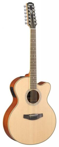 Chitara electro-acustica cu 12 corzi Yamaha CPX 700-12 NT