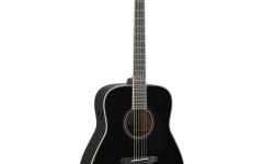 Chitara electro-acustica dreadnought/folk/western Yamaha FG-TA Black