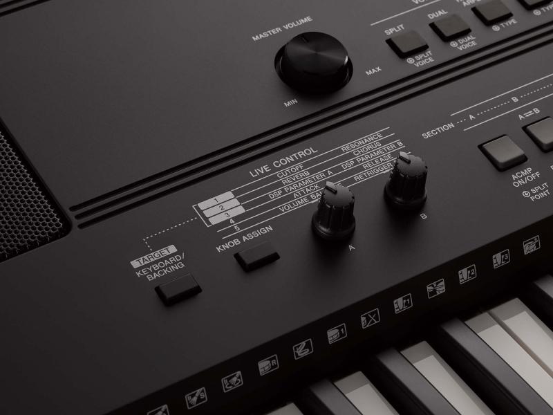 Clapa aranjor cu claviatura cu 76 de clape Yamaha EW-410