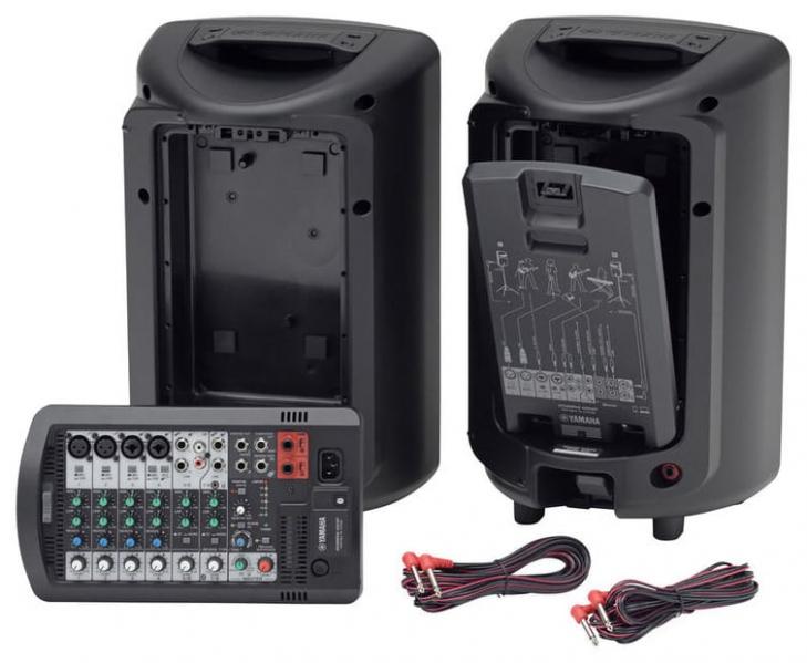 Sistem portabil PA Yamaha Stagepas 400BT