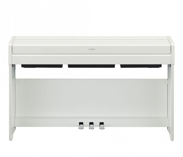 Pian digital cu claviatura cu 88 de clape Yamaha YDP-S34 WH
