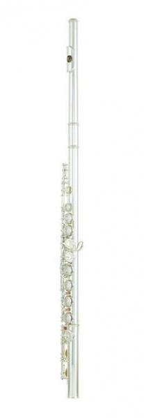 Flaut cu clape acoperite cu mecanism offset G si E Yamaha YFL-212