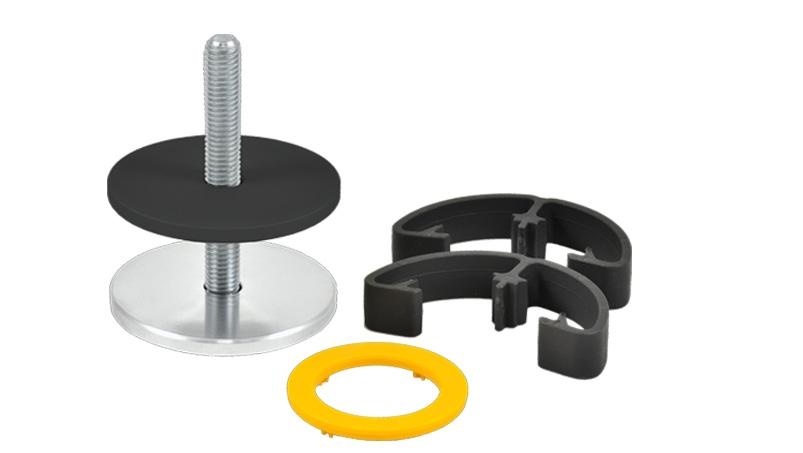 Yellowtec m!ka System Pole Desktop Mounting Kit