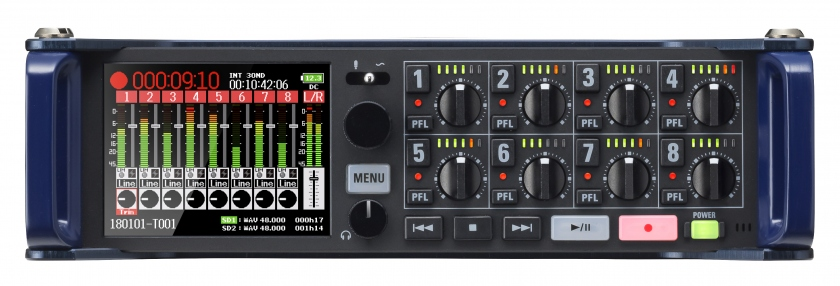 Zoom F8n Multitrack Recorder