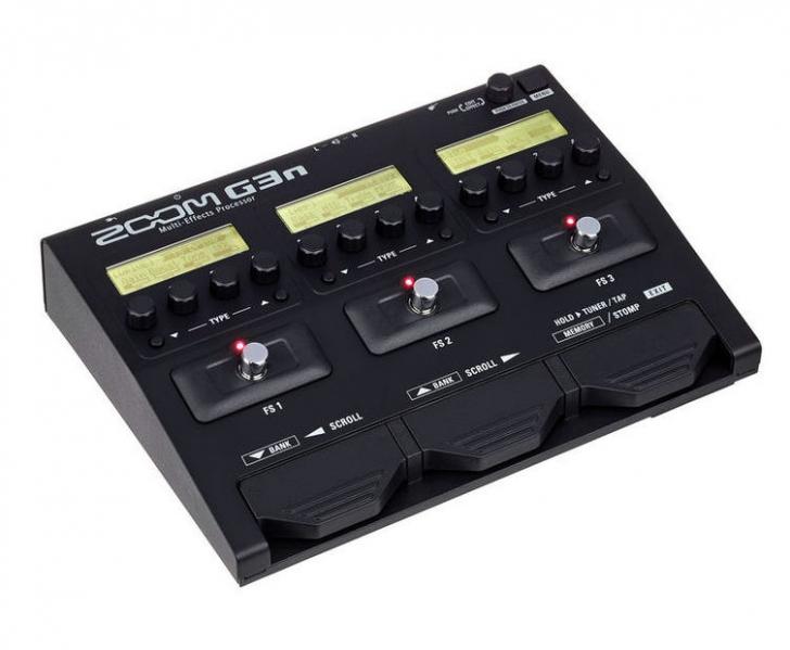 Procesor de chitara Zoom G3n